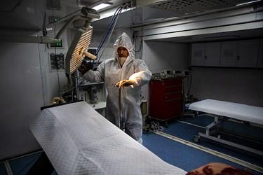 بیمارستان صحرایی در  نقاهتگاه ۲۰۰۰ تختخوابی ارتش