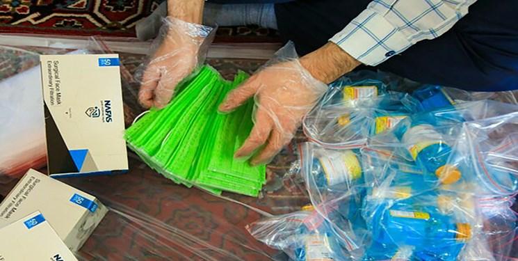 اهدای بستههای بهداشتی توسط کاپیتان سپاهان به روستای ملوسان