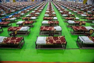 بازدید امیر جهانشاهی ازنقاهتگاه ۲۰۰۰ تختخوابی ارتش