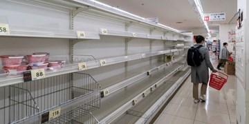 کرونا   هجوم ژاپنیها به فروشگاههای توکیو پیش از اعلام قرنطینه