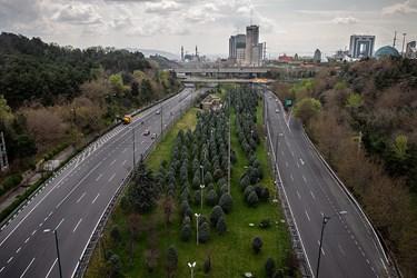 وضعیت آخرالزمانی در تهران +تصاویر