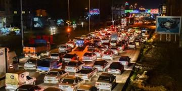 ترافیک نیمه سنگین و پرحجم در ورودی شرقی پایتخت