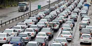 جادههای شمال همچنان پرترافیک/ ادامه ترافیک در مسیر خروجی محورهای هراز و کندوان