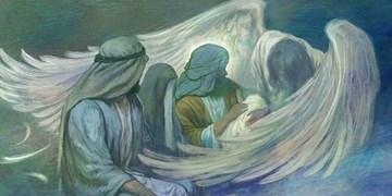 نقاشی حسن روحالامین برای میلاد امام حسین(ع)