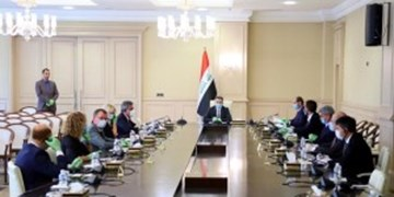دیدار نخستوزیر مکلف عراق با سفرای کشورهای عضو اتحادیه اروپا