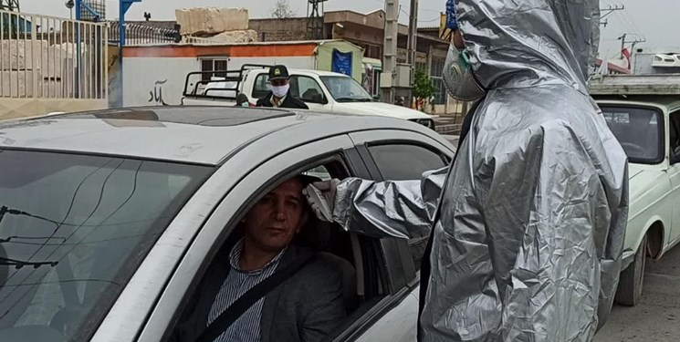 کرونا ورودیهای نجفآباد را مسدود کرد