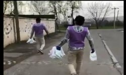 فیلم| کمپین مردمی «ناکرونا» در مناطق حاشیهای الشتر