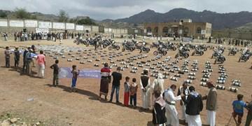 کاروان کمکهای قبائل استان «المحویت» به ارتش و انصارالله یمن