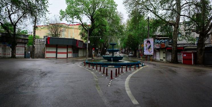 خیابانهای خلوت خرمآباد