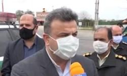 فیلم|تاکید استاندار مازندران بر سختگیری تردد خودروها