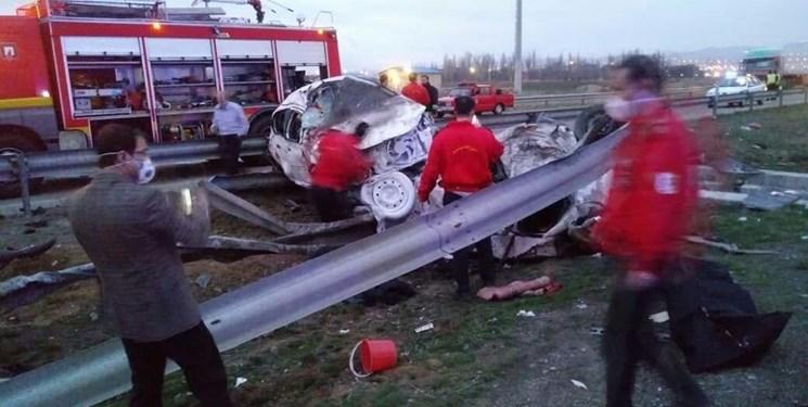۴ فوتی و ۱۰ مصدوم در حوادث رانندگی استان آذربایجانشرقی
