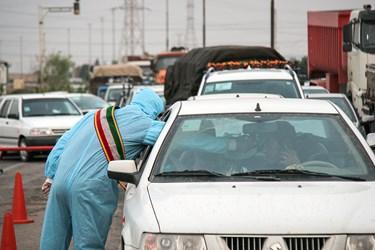 طرح فاصلهگذاری اجتماعی از مرکز تا ورودی شهر اهواز