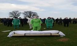 فیلم| تجهیز گروه جهادی غسل و تدفین بیماران کرونایی