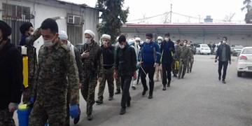 این سربازان بیصدا لباس رزم میپوشند/ کار دلی حاج آقا رحیمی در گورستان+ فیلم و تصاویر