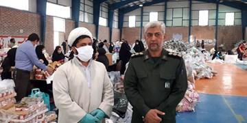 ضدعفونی اقلام اهدایی مردم به سیلزدگان جنوب کرمان در جیرفت