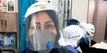 فیلم| پرستار قزوینی: در خانه بمانید و به توصیهها توجه کنید