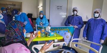 توزیع غذای متبرک رضوی برای بیماران کرونایی  و مدافعان سلامت