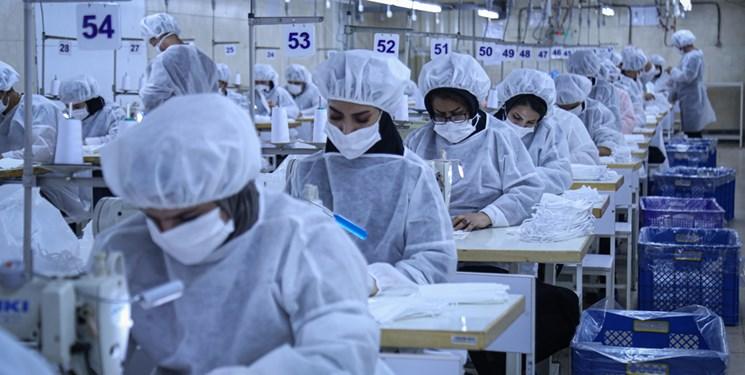 فعالیت 57 واحد تولیدی ماسک بهداشتی در آذربایجان شرقی/ راه اندازی 40 واحد تولیدی ماسک جدید