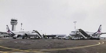 کاهش 56 درصدی پروازهای بینالمللی فرودگاه تبریز