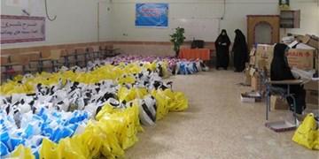 توزیع ۲۷ هزار بسته بهداشتی و سبدکالایی در بین مددجویان اردبیلی
