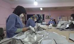 تولید لباس بیمارستانی برای مقابله با کرونا/ ۶ کارگاه خیاطی پای کار آمدند