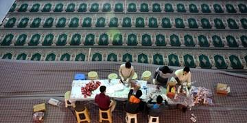 فیلم| جوانان مسجدی و کمک به بیماران کرونایی در اراک