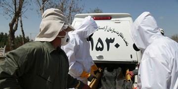 569 فوتی درآذر ماه 99 در آرامستانهای شهر قزوین پذیرش شد