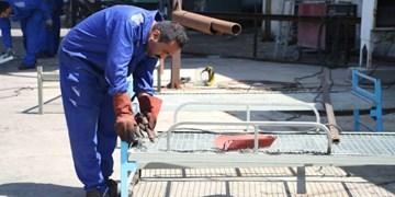 عکس| آمادهسازی نقاهتگاه «نداجا» در بندرعباس