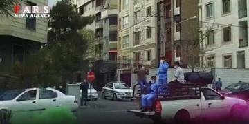 ابتکار یک مسجد برای شادی مردم با جشن خیابانی