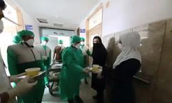 عطر«نسیم مهر رضوی» در بیمارستان امام خمینی (ره) اسلامآباد غرب پیچید