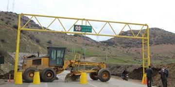 ترافیک سنگین در آزادراه کرج-قزوین/انسداد 9 جاده به دلیل کاهش ایمنی