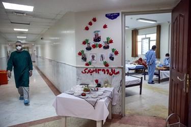 بازدید سردار نقدی از نقاهتگاه بیماران کرونایی