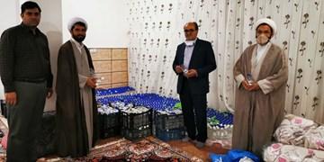 بازدید مدیرکل ستاد اجرایی فرمان امام (ره) از ستاد مردمی مبارزه با کرونا در اردکان