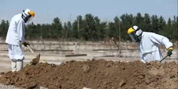 توضیحات رئیس آرامستان بندرعباس درباره خاکسپاری فوتیهای کرونا