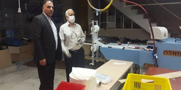تولید ۴۰ هزار ماسک توسط گروه جهادی لرستانیهای مقیم تهران