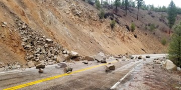 زلزله 6.5 ریشتری در ایالت آیداهو آمریکا