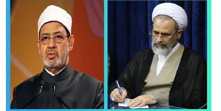 نامه مدیر حوزههای علمیه کشور به شیخ الازهر؛ آماده تبادل تجربیات درباره «آموزشهای مجازی» هستیم