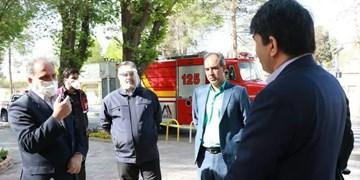 استاندار یزد از 50 گروه ضدعفونی کننده در روز طبیعت بازدید کرد
