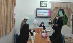 راهاندازی کارگاه تهیه ماسکهای بهداشتی توسط همسران مرزبانان