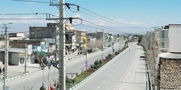 مشهد در 13 فروردین کاهش 95 درصدی تردد خودروها را تجربه کرد