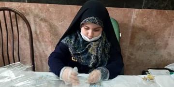 کم سن و سالترین جهادگر سلامت در تبریز