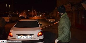 فیلم|تداوم ضدعفونی کردن اراک توسط پایگاه بسیج شهید آسنجرانی
