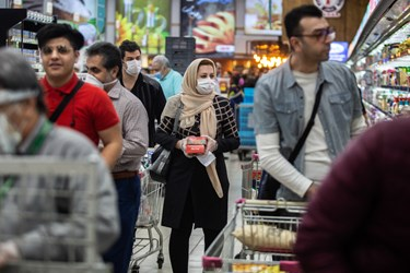 اکثر فروشگاه های تهران در وضعیت نسبتا مطلوبی قرار دارند و شهروندان می توانند مایحتاج خود را تهیه کنند
