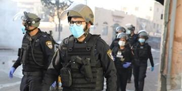 حمله وحشیانه نظامیان صهیونیست به فلسطینیان «یافا» به بهانه کرونا