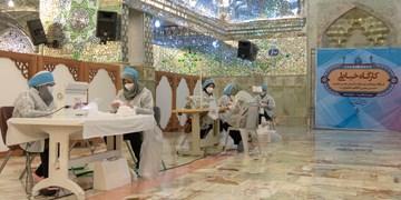 راهاندازی 16 کارگاه تولید ماسک به همت بسیج دانش آموزی/1971 بسته لوازم التحریر توزیع شد