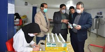 توزیع ۱۳ هزار محلول ضدعفونی اسفراین در خراسان شمالی