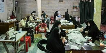 ثبت ۲۲۴هزار نفر از مردم قرچک در طرح غربالگری کرونا/ تولید ۱۰هزار ماسک توسط بسیجیان