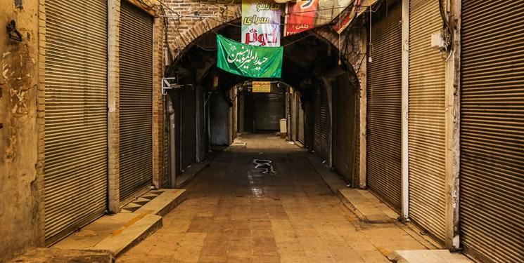 عکس| روزهای خاموشی بازار قزوین