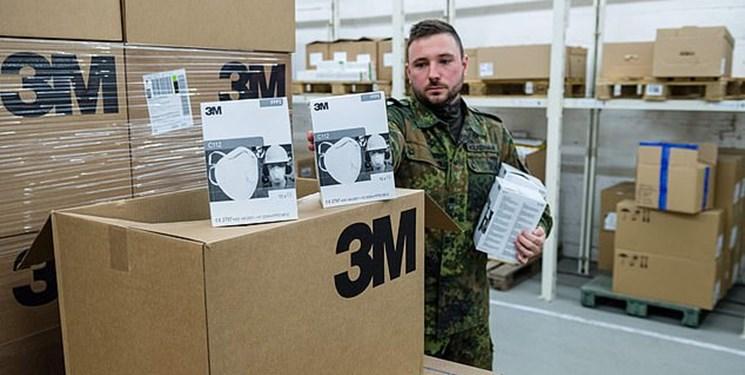 برلین: اقدام آمریکا در ضبط محموله ماسک آلمان «دزدی مدرن» است