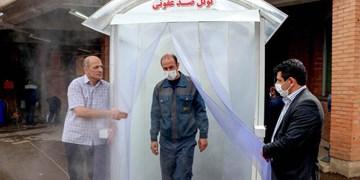 دستگاه ضدعفونی کننده سطوح و محیط با تکنولوژی مه خشک در ایران تولید شد